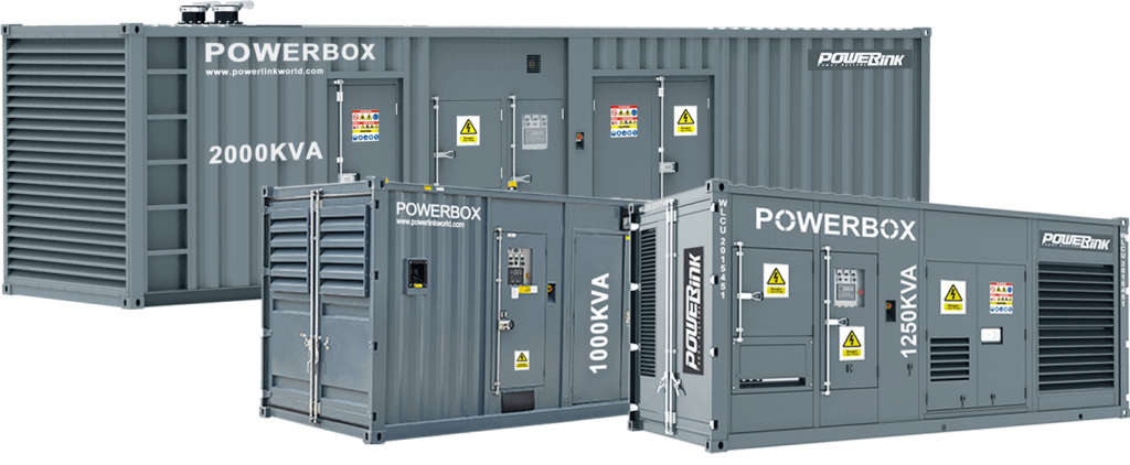 PowerLink Containerised Generators